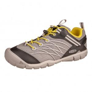 Dětská obuv KEEN Chandler   steel grey/evening primrose - barefoot...