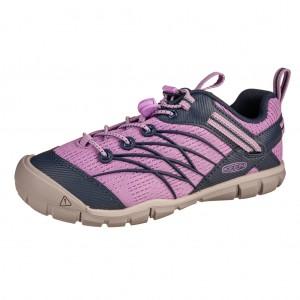 Dětská obuv KEEN Chandler   african violet/navy -  Celoroční