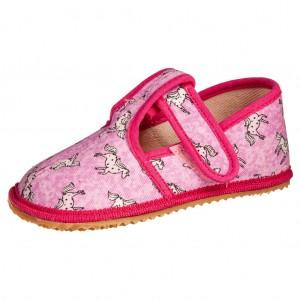 Dětská obuv Domácí obuv BEDA Růžový koník  *BF - Boty a dětská obuv