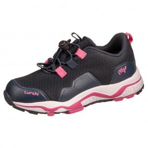 Dětská obuv Lurchi LESTER-tex  /navy fuchsia - Boty a dětská obuv