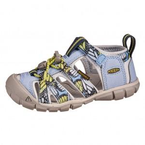 Dětská obuv KEEN Seacamp   /hydrangea/sharp green -  Sandály