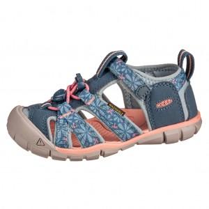 Dětská obuv KEEN Seacamp   /real teal/stone blue -  Sandály