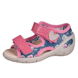 Dětská obuv Domácí sandálky Befado -  Na doma a do škol(k)y