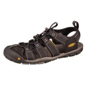Dětská obuv KEEN Clearwater CNX /black/gargoyle -  Sandály