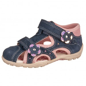 Dětská obuv Lurchi MOMO  /navy - Boty a dětská obuv