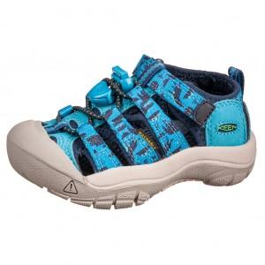 Dětská obuv KEEN Newport H2 /vivid blue/katydid -  Sandály