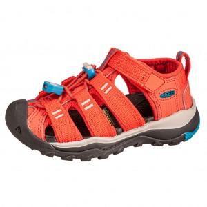 Dětská obuv KEEN Newport Neo H2 /orange/vivid blue - Boty a dětská obuv