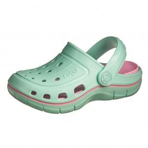 Dětská obuv Coqui   /lt.mint/pink - Boty a dětská obuv