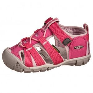 Dětská obuv KEEN Seacamp   /very berry /dawn pink - Boty a dětská obuv