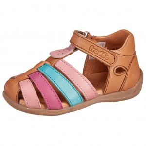 Dětská obuv Froddo Carte Girly Brown - Boty a dětská obuv