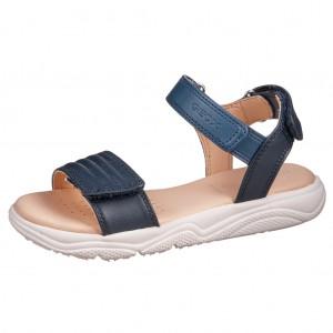 Dětská obuv GEOX J S.Deaphne /navy - Boty a dětská obuv