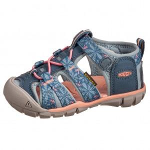 Dětská obuv KEEN Seacamp   /real teal/stone blue - Boty a dětská obuv