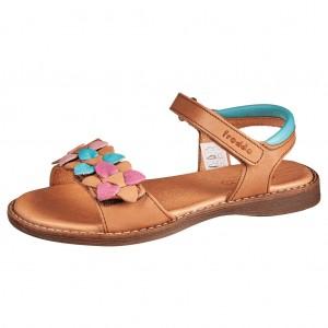Dětská obuv Froddo sandály Lore flowers /brown - Boty a dětská obuv