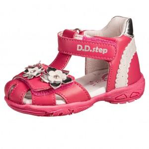Dětská obuv D.D.Step AC290-384 Dark Pink - Boty a dětská obuv