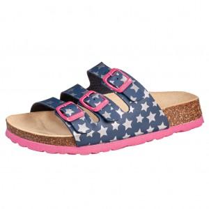 Dětská obuv Domácí obuv Superfit 0-800113-8400 M IV -  Na doma a do škol(k)y