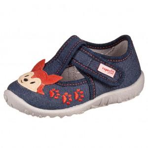 Dětská obuv Domácí obuv Superfit 1-009256-8020 M III -  Na doma a do škol(k)y