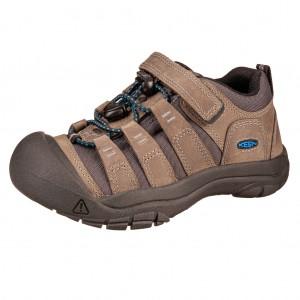 Dětská obuv KEEN Newport shoe  /steel grey/brilliant blue - Boty a dětská obuv