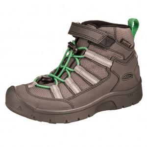 Dětská obuv KEEN Hikeport II sport MID WP  /black/irish green -  Sportovní