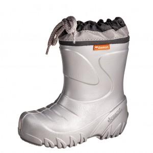 Dětská obuv DEMAR Mamut stříbrné - Boty a dětská obuv