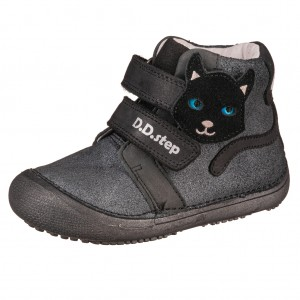 Dětská obuv D.D.Step  A063-379M Black *BF - Boty a dětská obuv